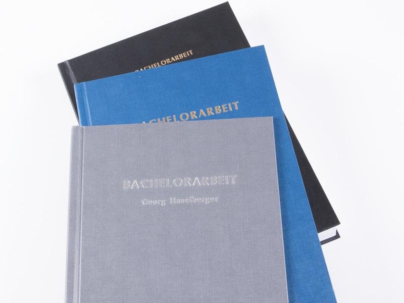 Binden - Bachelorarbeit, Masterarbeit, Dissertation