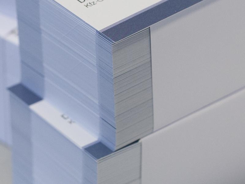Drucken, Druckerei München - Visitenkarten
